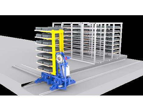 Автоматическая система перевозки поддонов